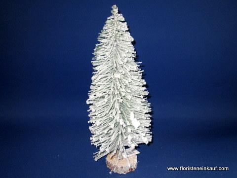 Tannenbaum Der Schneit.Tannenbaum Beschneit 38 Cm Mit Holzfuß