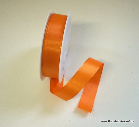 Taftband 25 mm x 50 m,orange