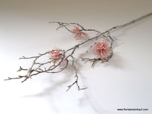 Hamamelis Zweig, 57 cm, light-salmon