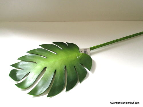 Monstera Dekoblatt, 100 x 30 cm, Foam